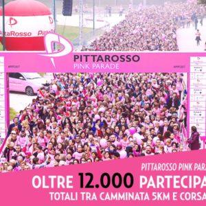 Pittarosso Pink Parade 2017, un grande successo