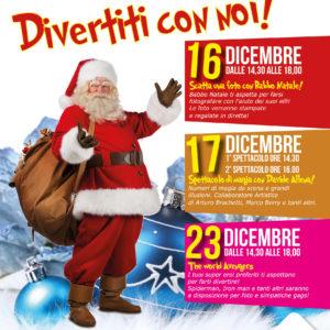 Gli eventi di Natale a La Vetrina